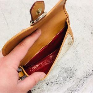 Dooney & Bourke Bags - Dooney & Bourke logo leather wristlet